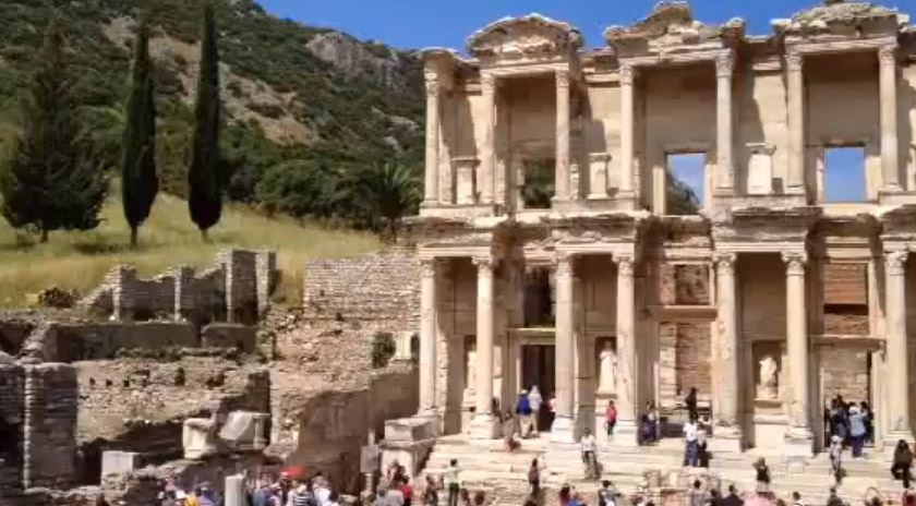 The Library At Ephesus Inspiration Cruises Amp Tours