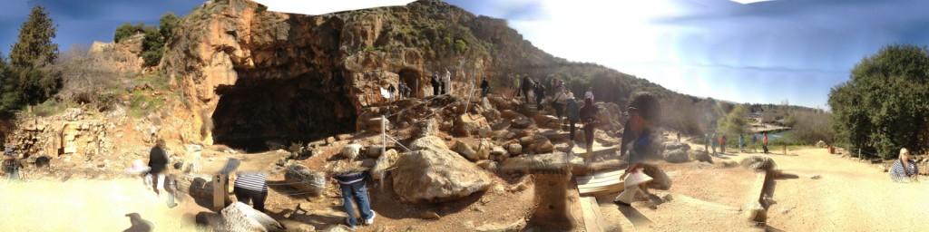 The Ruins At Caesarea Philippi Exceptional Christian