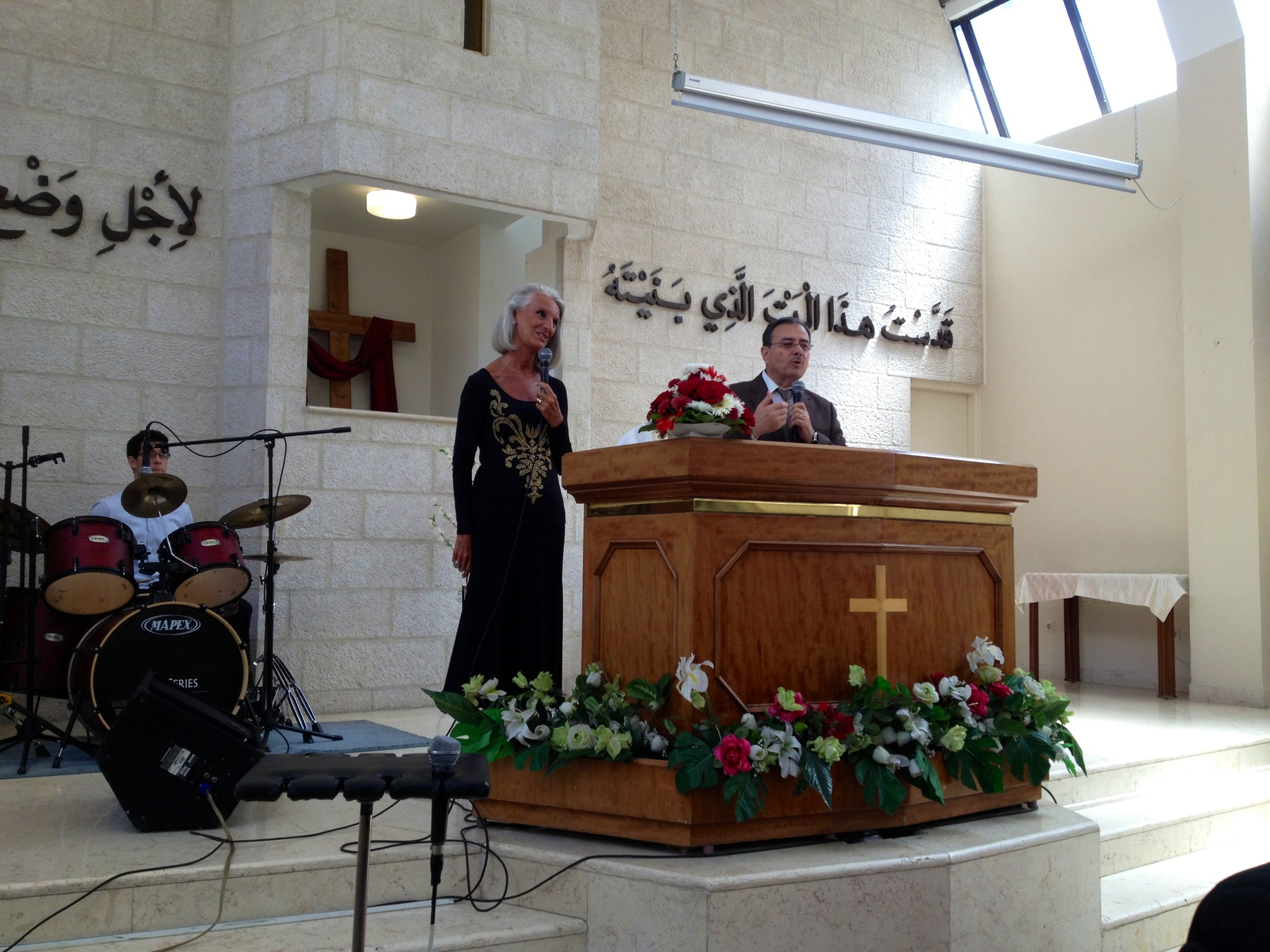 Church Coffee And Community Ministry In Jordan With