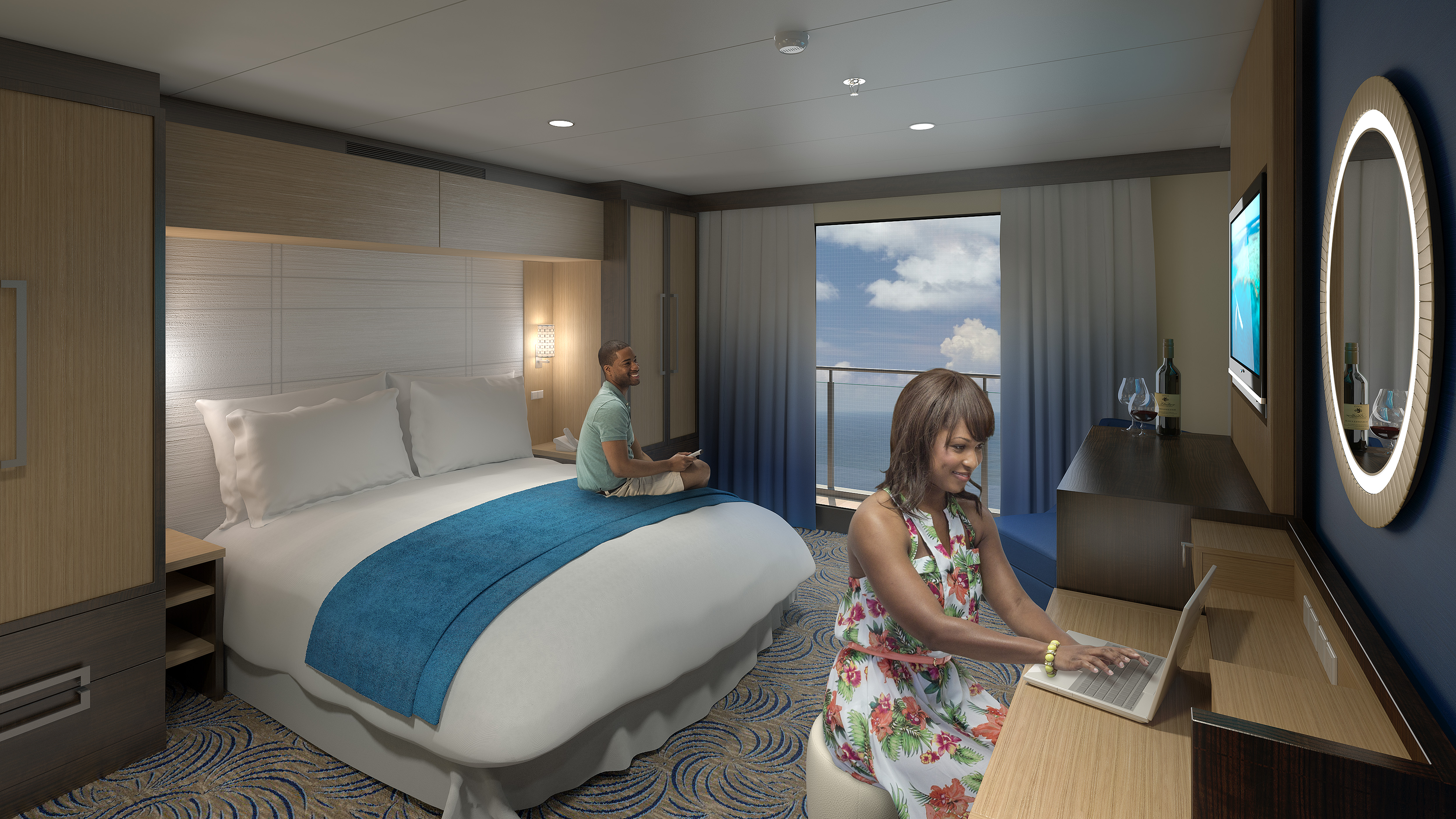 Royal caribbean introduces new amenities and virtual What is an interior room on a cruise