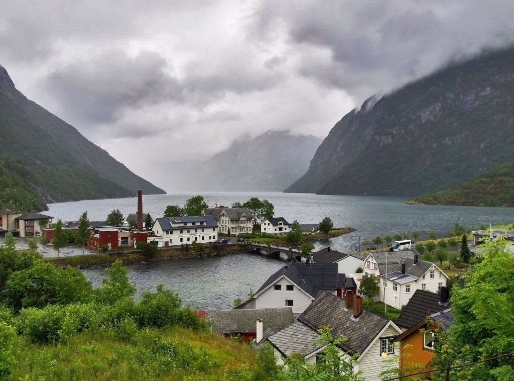 Grainger fjord in Norway