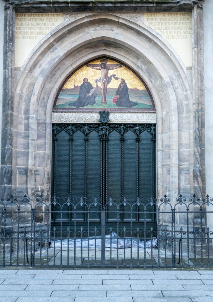 Wittenburg Germany doors