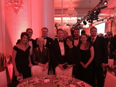 Inspiration staff and  invited guests enjoyed the gala launch of Washington D.C.'s Museum of the Bible.