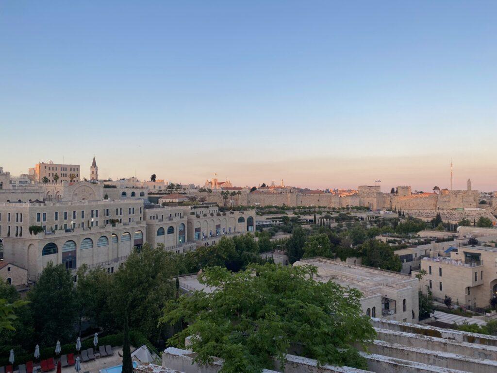 A quiet Shabbat in Jerusalem