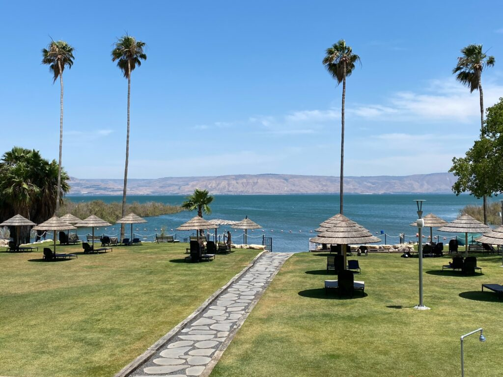 The Sea of Galilee is as beautiful as ever