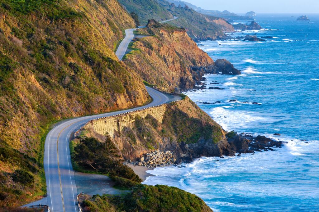 Pacific Coast Highway in Big Sur, CA