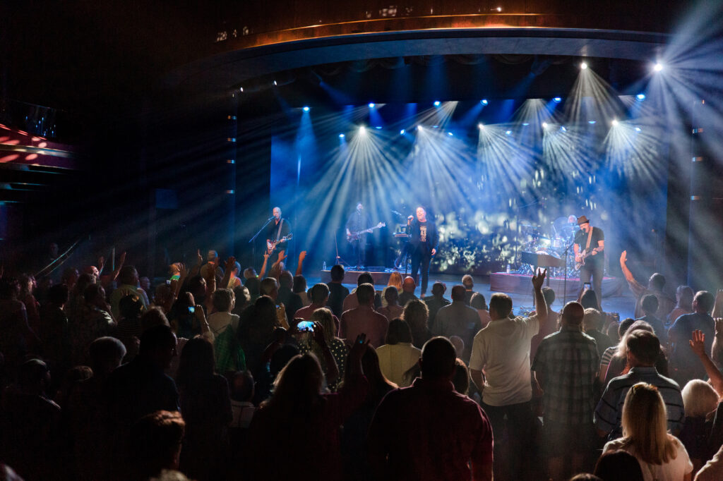MercyMe performing on their MercyMe at Sea Caribbean Cruise