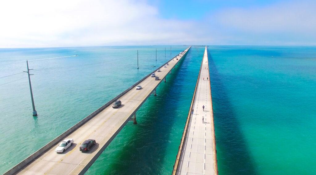 Seven-Mile Bridge on U.S. Highway 1