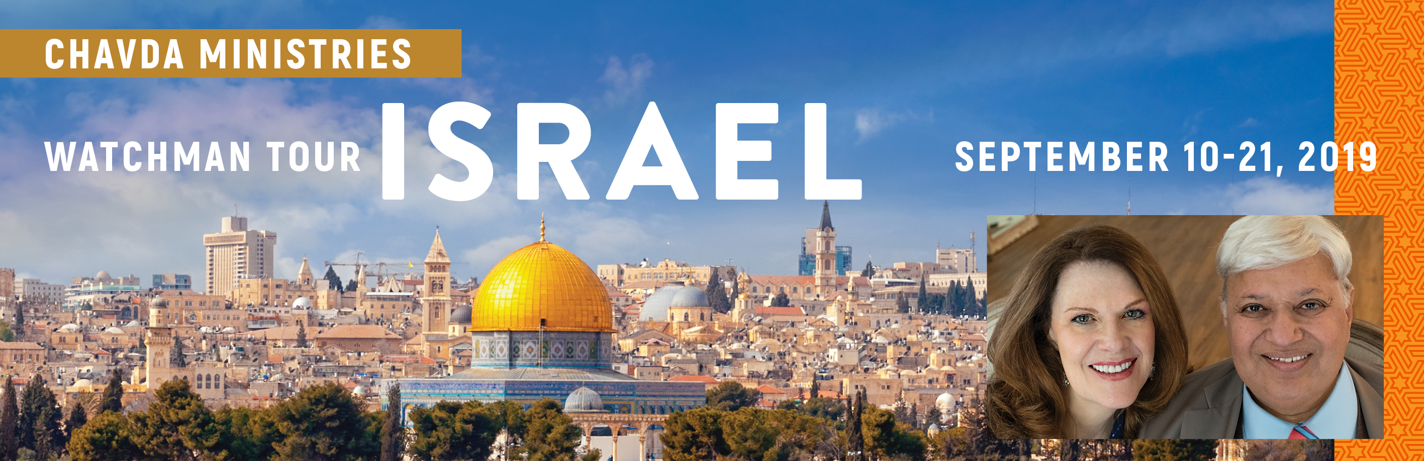 Take a Christian TourWOX with Chavda Ministries - Israel Tour - September 10 - 21, 2019