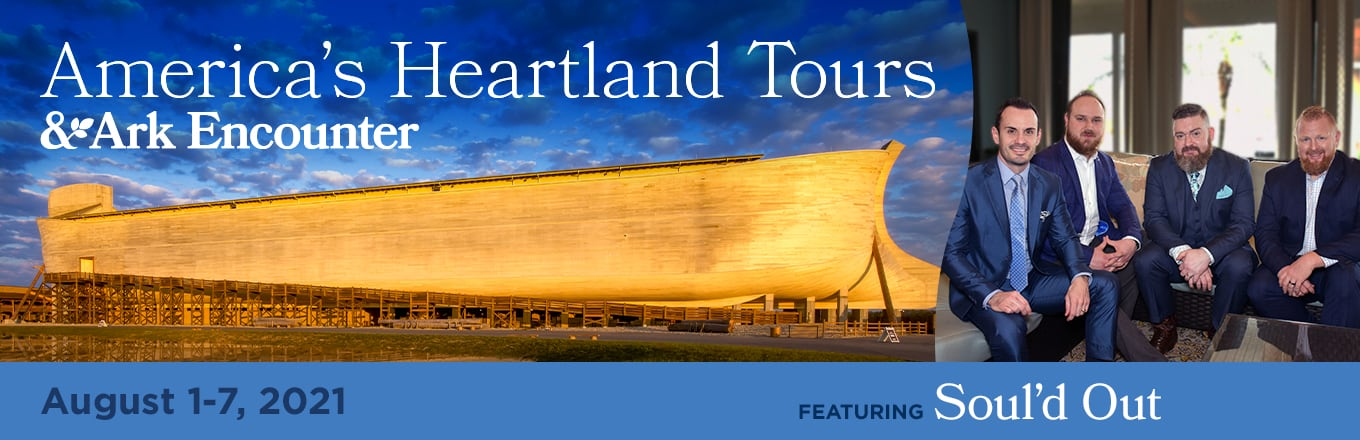 Take a Christian TourWX with America's Heartland Tours & Ark Encounter - August 1-7, 2021