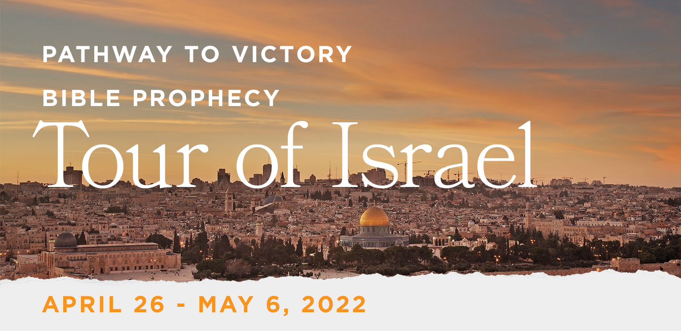 Take a Christian TourWOX with Pathway to Victory - Christian Tour to Israel - April 26 - May 6, 2022