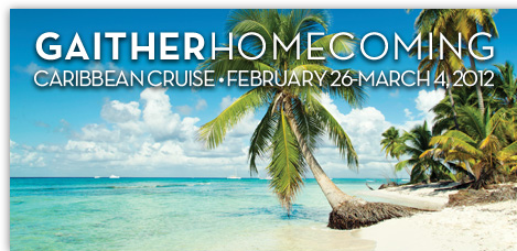 Take a Christian Cruise with Gaither Homecoming - Caribbean Cruise - February 26-March 4, 2012