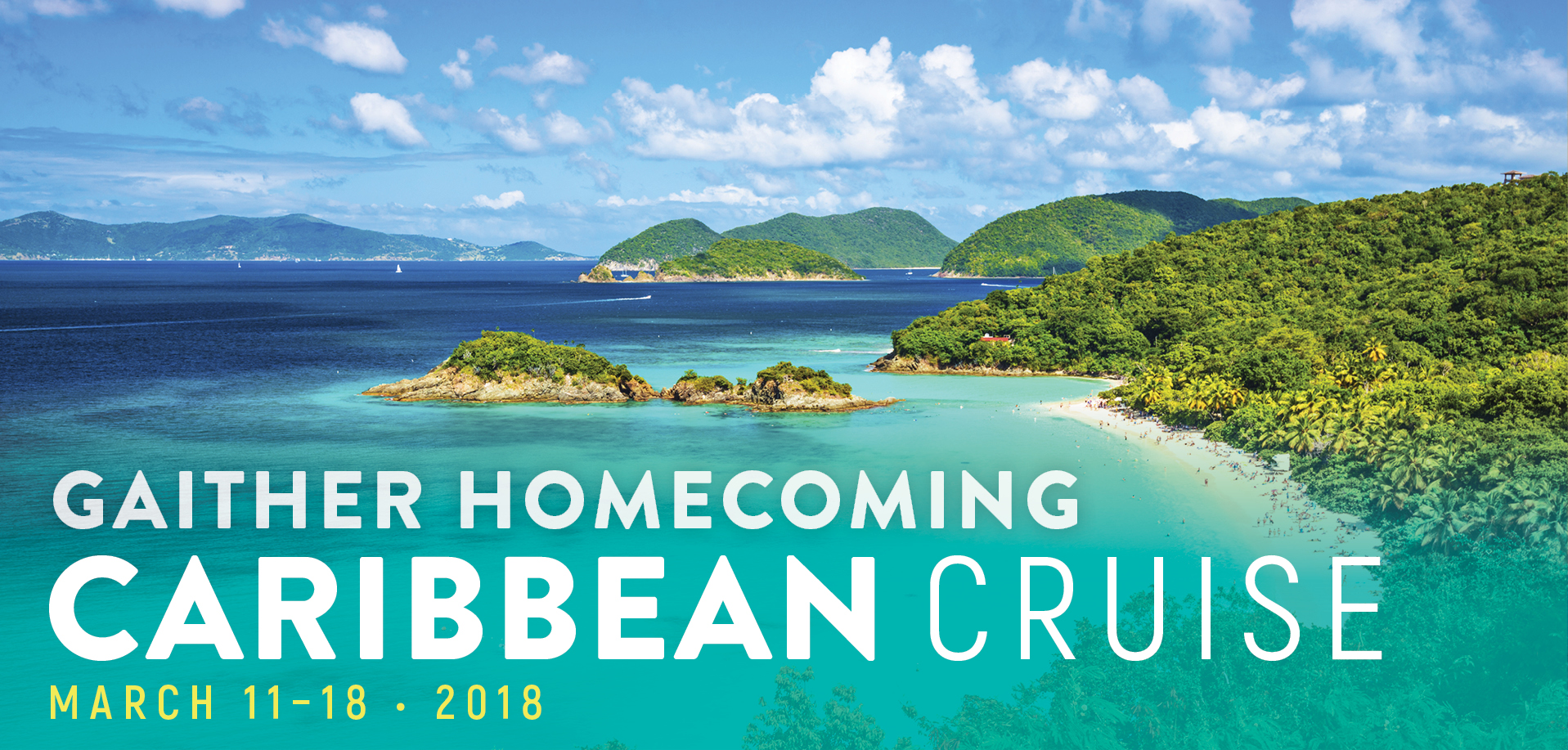 Take a Christian Cruise with Gaither Homecoming & Friends - Caribbean Cruise - March 11-18, 2018