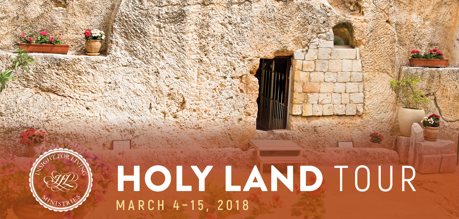 Take a Christian TourWOX with Insight for Living - Israel Tour - March 4-15, 2018
