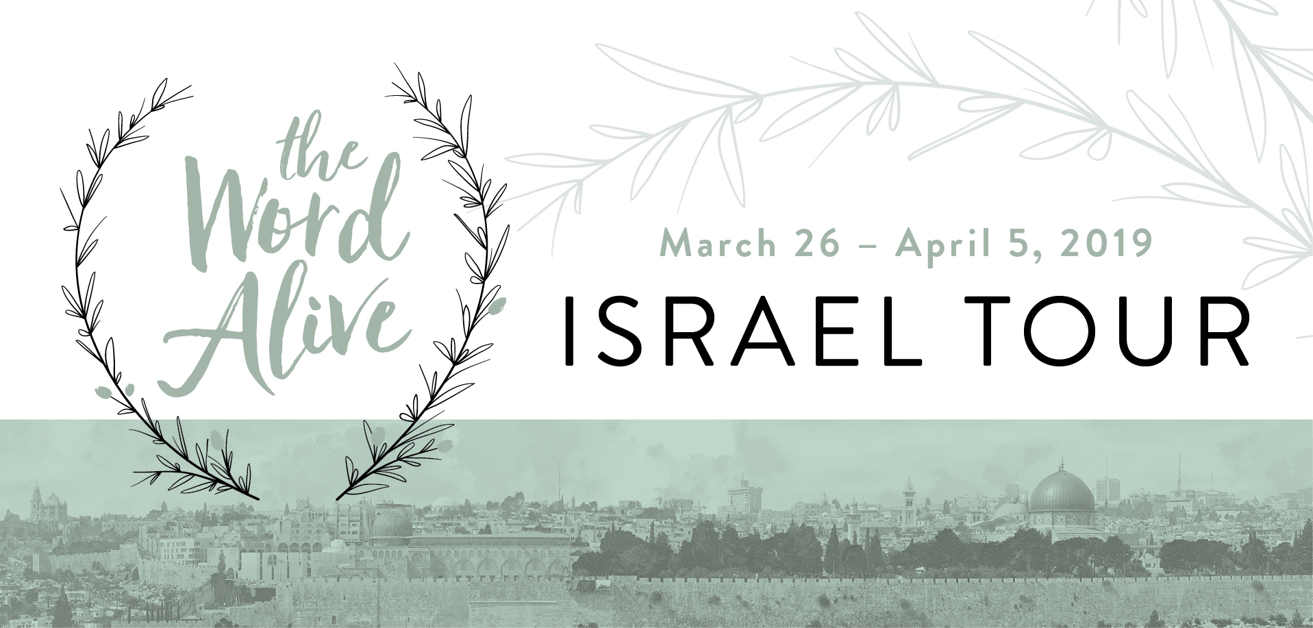 Take a Christian TourWX with Lifeway Israel Tour - Christian Tour to Israel - March 26-April 5, 2019