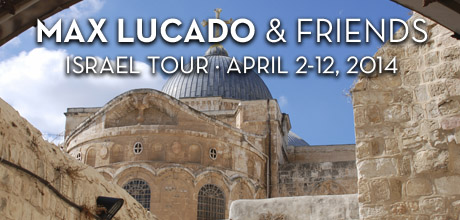 Take a Christian TourWOX with Upwords Ministries - Christian Tour to Israel - April 2-12, 2014