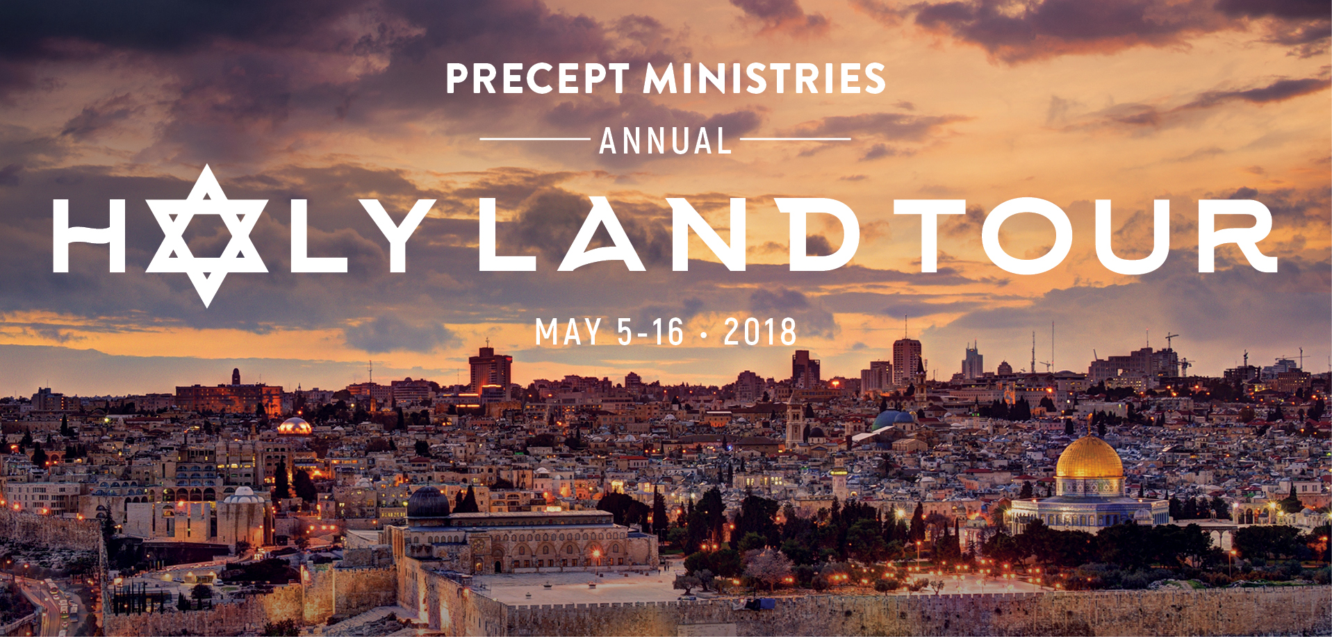 Take a Christian TourWOX with Precept Ministries - Christian Tour to Israel 2018