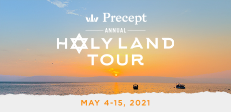 Take a Christian TourWOX with Precept Ministries - Christian Tour to Israel - May 4-15, 2021