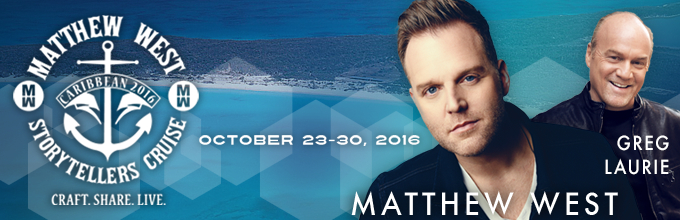 Take a Christian Cruise with Storytellers Cruise with Matthew West - Christian Cruise to the Caribbean - October 23-30, 2016