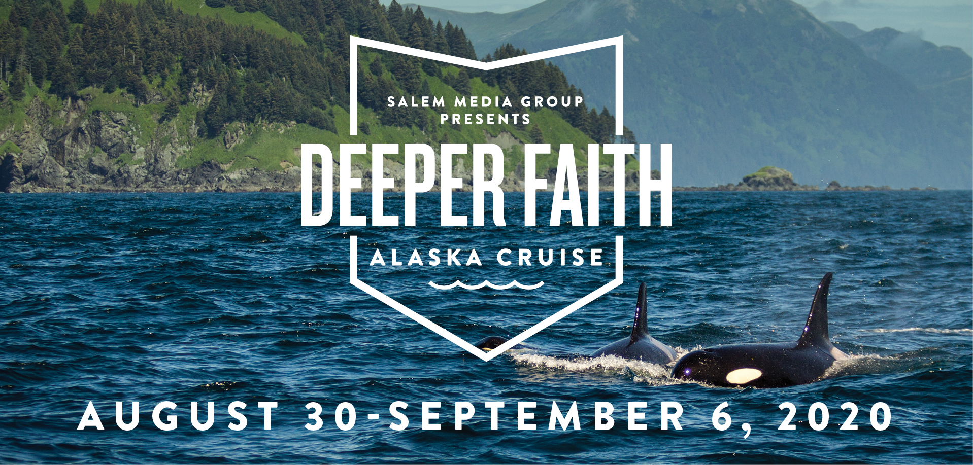 Take a Christian Cruise with Deeper Faith Cruise - Christian Cruise to Alaska - August 30 - September 6, 2020