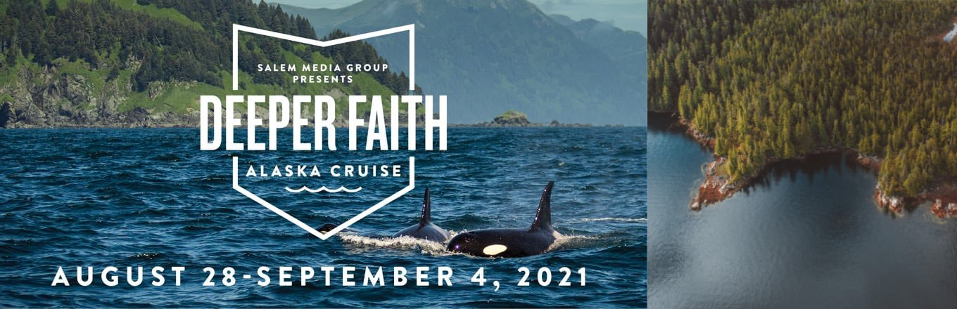 Take a Christian Cruise with Deeper Faith Cruise - Christian Cruise to Alaska - August 28 - September 4, 2021