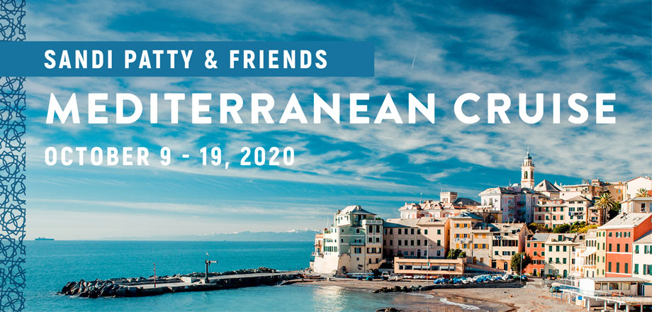 Take a Christian Cruise with Sandi Patty - Christian Cruise to the Mediterranean - 2020