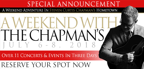 Take a Christian TourWOX with A Weekend with The Chapmans - July 6-8, 2018