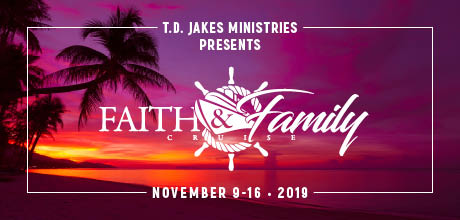 Take a Christian Cruise with Bishop T.D. Jakes - Christian Cruise to the Caribbean - November 9-16, 2019.
